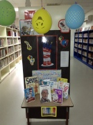 2013-02-25 Dr Seuss display
